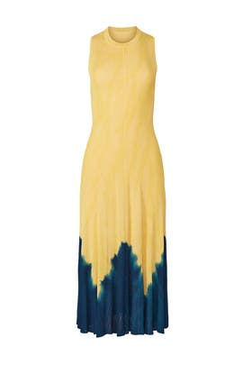 Tie Dye Knotted Back Maxi by Proenza Schouler