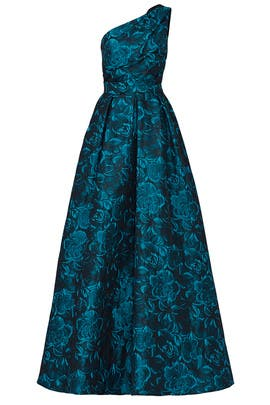 Blue Simonetta Gown by Slate & Willow