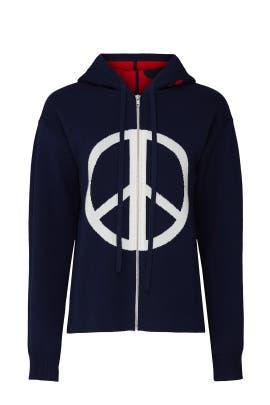 Peace Graphic Sweatshirt by Victor Alfaro Collective