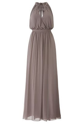 Grey Fleurette Gown by WATTERS