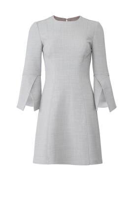 Grey Day Dress by Badgley Mischka