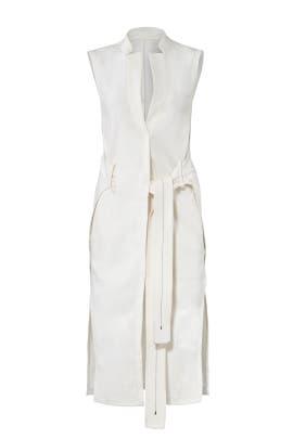 Wrap Waist Vest by HALSTON