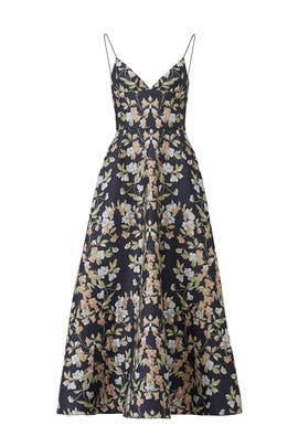 Garden Jacquard Gown by ML Monique Lhuillier