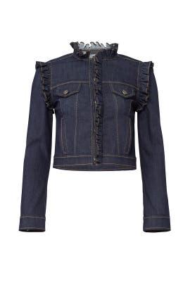 Allegra Denim Jacket by Cinq à Sept