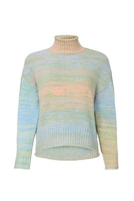 Space Dyed Turtleneck by 525 America