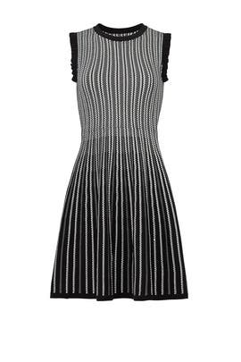 Striped Textured Sweater Dress by kate spade new york