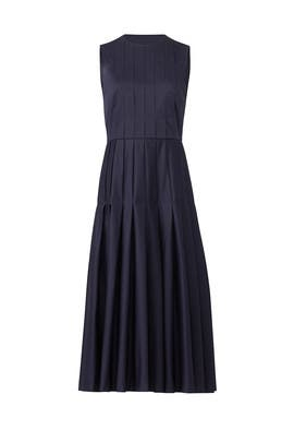 Navy Lianne Midi Dress by L.K. Bennett