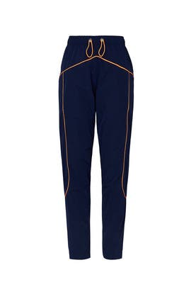 Colored Piping Joggers by Mira Mikati