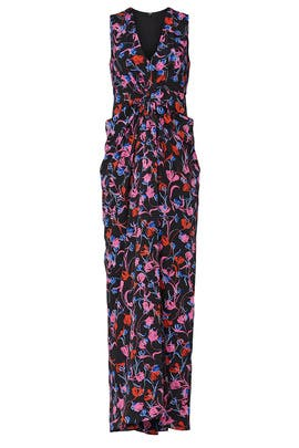 Tulip Floral Gown by Thakoon Collective