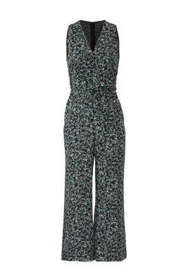 Luna Printed Culotte Jumpsuit by Greylin