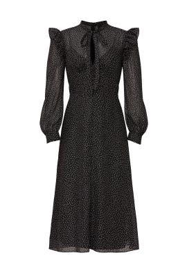 Foil Print Midi Dress by Jill Jill Stuart