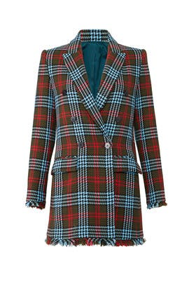 Plaid Tartan Jacket by MARYLING