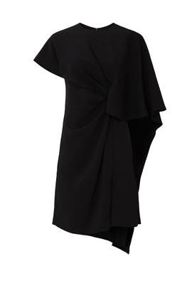 Black Cape Dress by Prabal Gurung Collective