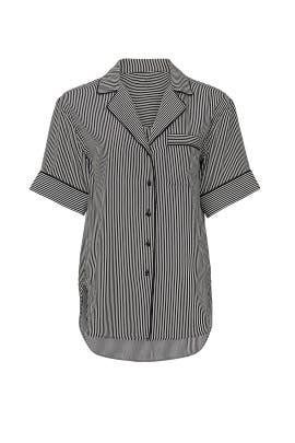 Luca Short Sleeve PJ Top by rag & bone