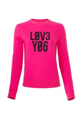 Love You Sweatshirt by RED Valentino