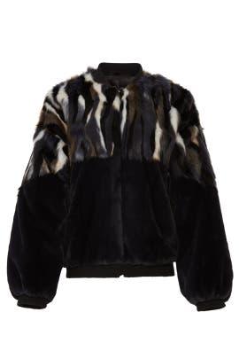 Gota Faux Fur Jacket by Sosken