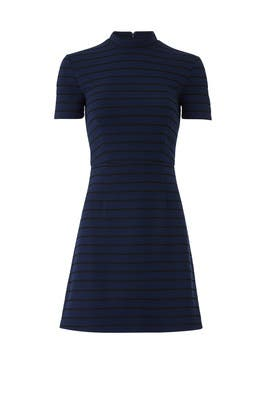 Navy Stripe Knit Dress by Slate & Willow