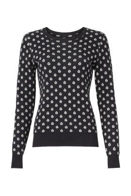 Lady Bug Hill Sweater by Trina Turk