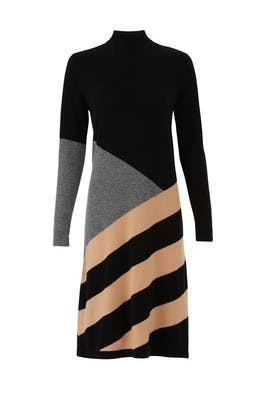 Mexicano Turtle Neck Dress by Chinti & Parker