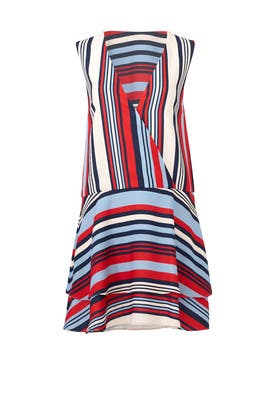 Striped Milan Dress by Cooper Street