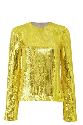 Clara Sequin Top by GALVAN