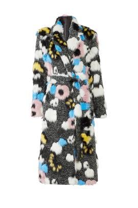 The Kat Faux Fur Coat by Hutch