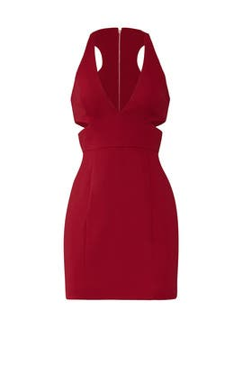 Burgundy Krooger Dress by Jay Godfrey