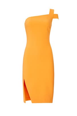 Orange Packard Dress by LIKELY