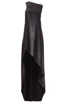 Black Shellac Gown by Narciso Rodriguez