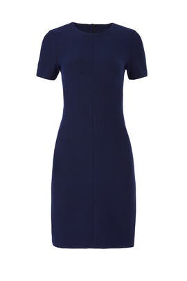 Navy Watts Dress by Of Mercer