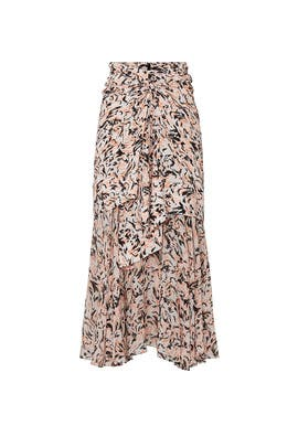 Printed Chiffon Layered Skirt by Proenza Schouler
