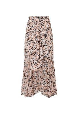 Printed Chiffon Layered Skirt by Proenza Schouler