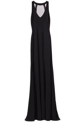Black Matte Dress by Theia