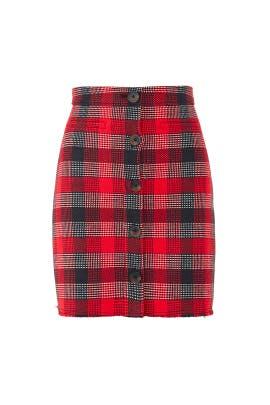 Plaid Mini Skirt by Derek Lam 10 Crosby