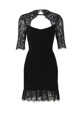 Black Lace Dress by Rachel Zoe