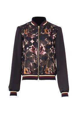 Floral Pep 2 Bomber by Trina Turk
