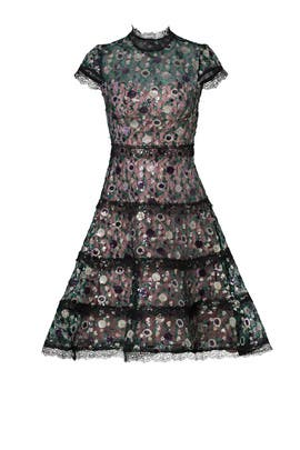 Peony Sequin Garden Dress by Alexis