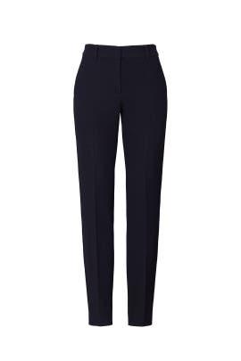 Stretch Wool Slim Pants by Emporio Armani