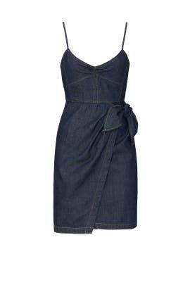 Sleeveless Denim Dress by La Vie Rebecca Taylor