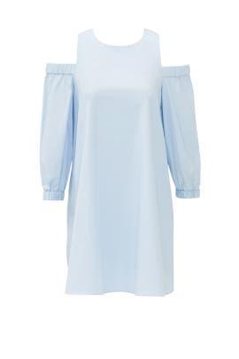 Powder Blue Architect Dress by Tibi