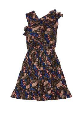 Printed Ilana Dress by Ulla Johnson