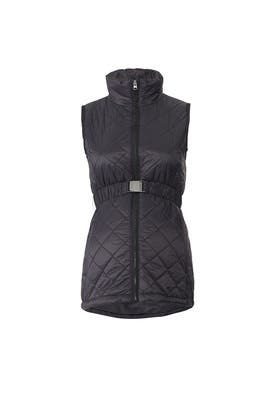 Quilted Puffer Maternity Vest by A Pea in the Pod
