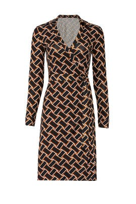 New Jeanne Wrap Dress by Diane von Furstenberg