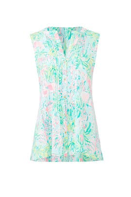 Printed Sarasota Top by Lilly Pulitzer