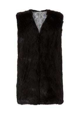 Jessi Faux Fur Vest by RAGA