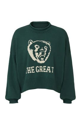 The Bear Roll Pullover by The Great.