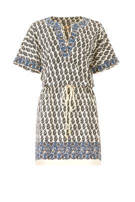Guru Border Amara Dress by Tory Burch