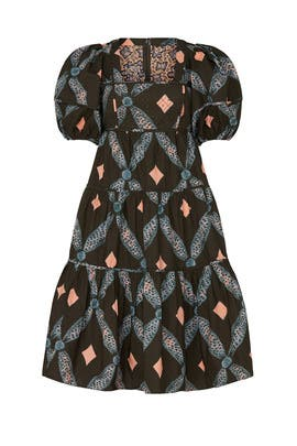 Printed Nora Dress by Ulla Johnson