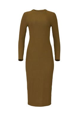 Olive Green Lexi Dress by Universal Standard