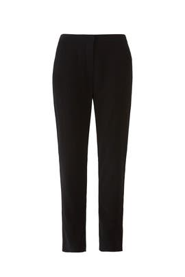 Black Cigarette Trousers by Co